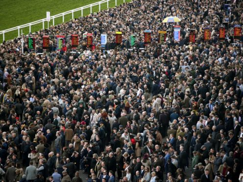 The aggregate attendance for the four days of the Cheltenham Festival was over 250,000 (Tim Goode/PA)