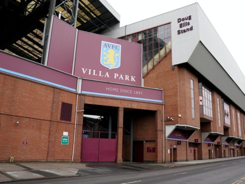 Aston Villa fans were reported for 13 alleged hate crimes during the 2019-20 season (Morgan Harlow/PA)