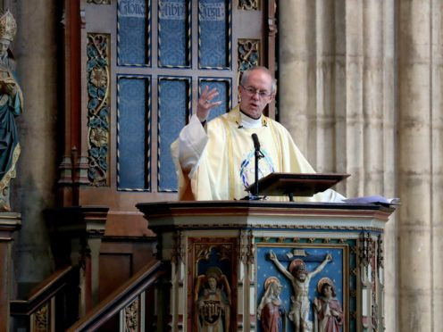 The Archbishop of Canterbury Justin Welby (Gareth Fuller/PA)
