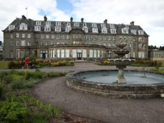 Gleneagles Hotel in Perthshire will close until February (Andrew Milligan/PA)