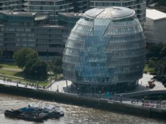 London Mayor Sadiq Khan has confirmed the Greater London Authority will move out of its 'landmark' City Hall building (Daniel Leal-Olivas/PA)
