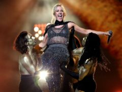 Ellie Goulding's cover featured in the 2010 Christmas advert (Isabel Infantes/PA)