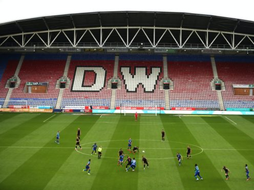 Jamie Vermiglio's Chorley won at the DW Stadium (Martin Rickett/PA)