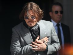 News Group Newspapers relied on 14 allegations in its defence of Johnny Depp's libel claim (Yui Mok/PA)