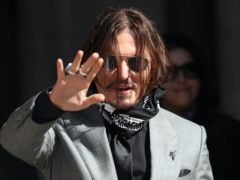 Actor Johnny Depp has launched a defamation case against ex-wife Amber Heard in the US (Yui Mok/PA)