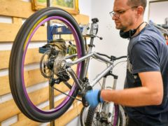 A second batch of £50 bike repair vouchers have been released (Ben Birchall/PA)