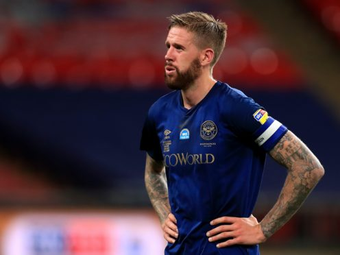 Brentford captain Pontus Jansson is sidelined by a hamstring issue (Mike Egerton/PA).