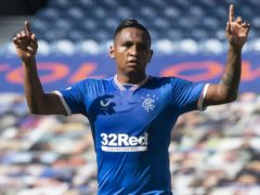 Steven Gerrard says Alfredo Morelos has set his sights on the Champions League (Craig Foy/PA)