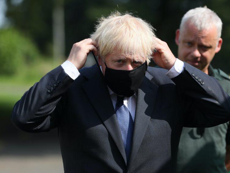 Prime Minister Boris Johnson (Brian Lawless/PA)