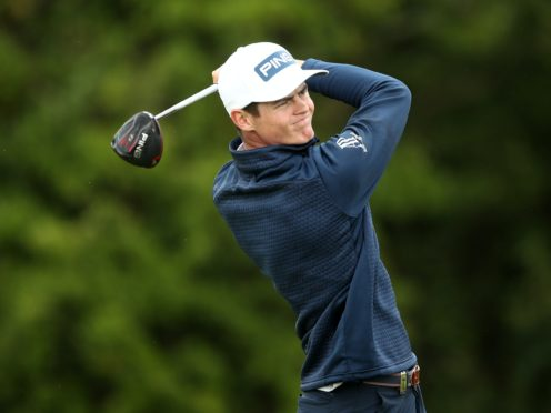 South Africa's Wilco Nienaber shares the lead after day one of the Joburg Open (Tim Goode/PA)