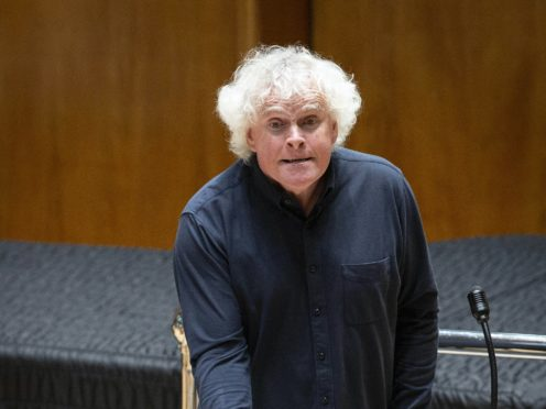 Sir Simon Rattle is musical director of the London Symphony Orchestra (Max Alexander/PA)