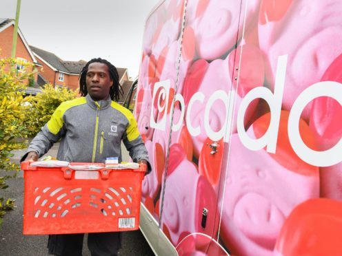 Ocado has increased its profits target after a strong start to its M&S joint venture (Doug Peters/PA)