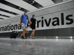 The Government said the quarantine requirement for international arrivals was 'critical to the Government's Covid-19 response' (Kirsty O'Connor/PA)
