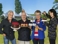 The Great British Bake Off team Paul Hollywood, Matt Lucas, Prue Leith and Noel Fielding (C4/Love Productions/Mark Bourdillon)