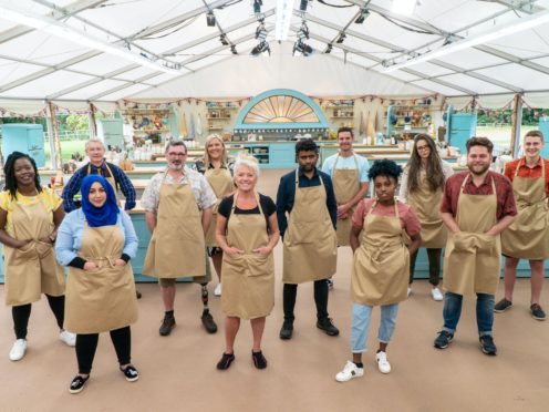 Great British Bake Off contestants (C4/Love Productions/Mark Bourdillon/PA)