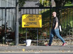 The testing facility is one of 14 across Scotland and the third in the city (Andrew Milligan/PA)
