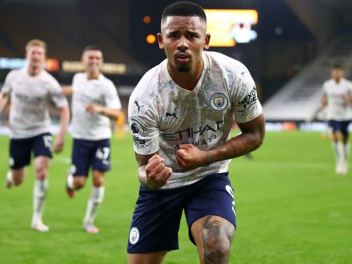 Manchester City striker Gabriel Jesus is nearing a return to action after injury (Marc Atkins/PA)
