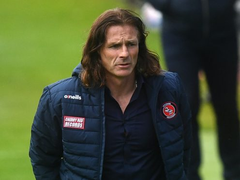 Wycombe manager Gareth Ainsworth is pleased with his side's progress (Victoria Jones/PA)
