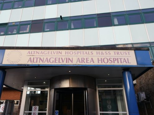 Altnagelvin Area Hospital in Londonderry (PA)