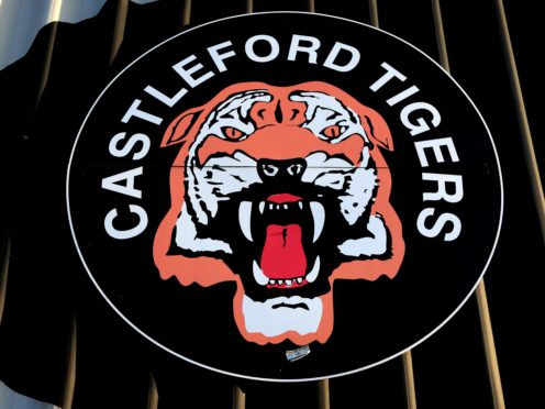 File photo dated 01-10-2020 of A general view of a Castleford Tigers logo.