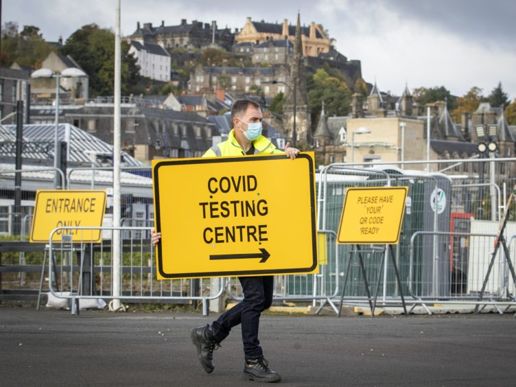 An expansion of coronavirus testing has been announced by Scotland's Health Secretary (Jane Barlow/PA)