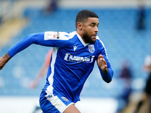 Dominic Samuel was on target for Gillingham (John Walton/PA)