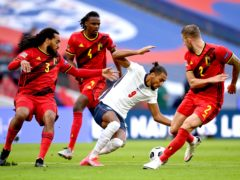 England travel to Belgium (Michael Regan/PA)