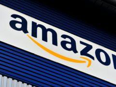 An Amazon sign (Nick Ansell/PA)