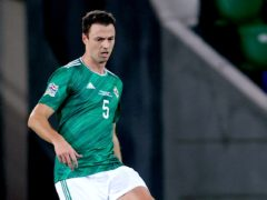 Jonny Evans is in the Northern Ireland squad despite missing more time with Leicester (Liam McBurney/PA)