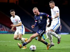 Oli McBurnie could face Slovakia (Steve Welsh/PA)