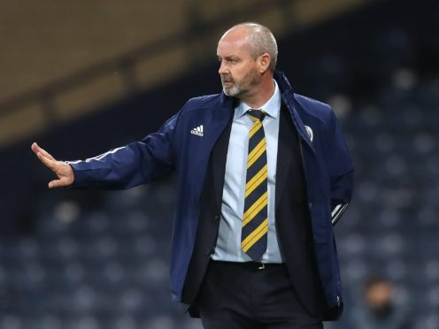 Steve Clarke's Scotland side are gearing up for Wednesday's match with Israel (Andrew Milligan/PA).