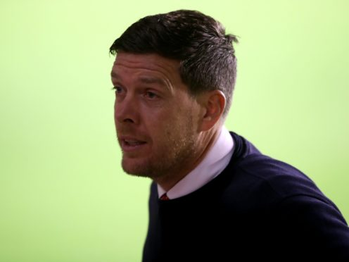 Walsall manager Darrell Clarke felt his side deserved to beat Newport (Nick Potts/PA).