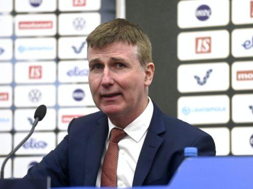 Republic of Ireland manager Stephen Kenny has been hit hard by coronavirus withdrawals (Emmi Korhonen/PA)