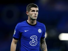 Christian Pulisic will be checked ahead of Chelsea's clash with Tottenham (Alastair Grant/PA)