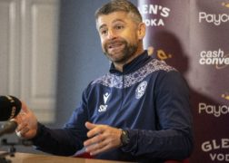 Motherwell manager Stephen Robinson is delighted with his team's recent form (Jeff Holmes/PA)