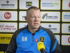 Gary Holt has quit as Livingston head coach (Jeff Holmes/PA)
