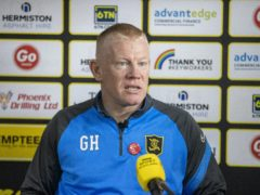 Livingston manager Gary Holt has players back (Jeff Holmes/PA)