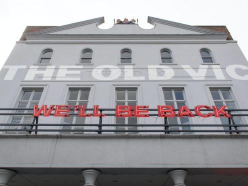 The Old Vic Theatre (Dominic Lipinski/PA)