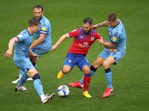 Adam Armstrong, centre, has scored 10 goals this season (Nick Potts/PA)