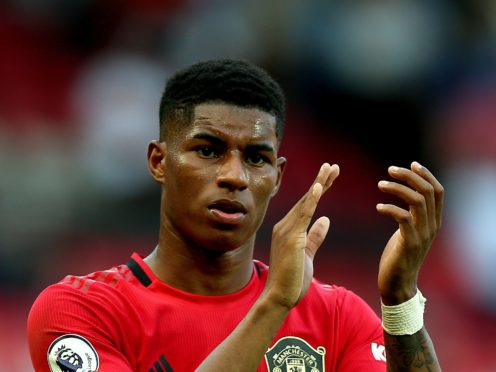 Manchester United's Marcus Rashford (Nigel French/PA)