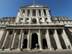 The Bank of England is predicting a hit of 1% to the economy in early 2021 (Yui Mok/PA)