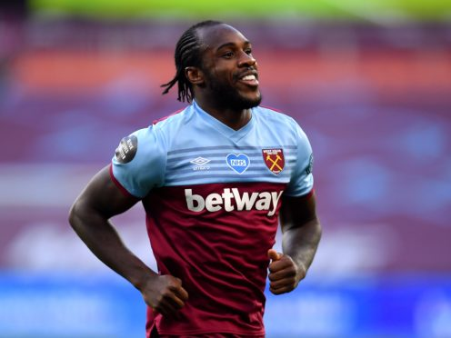 Michail Antonio has been out with a hamstring injury (Justin Setterfield/PA)