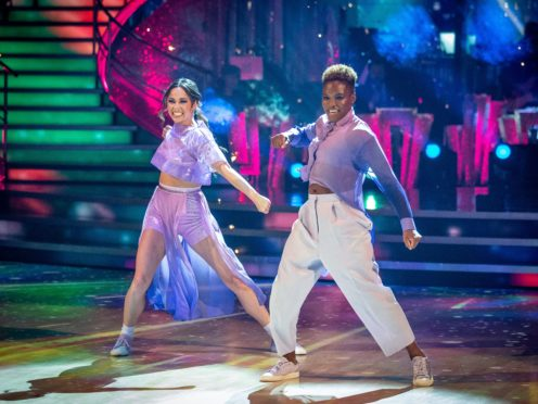 Nicola Adams says leaving Strictly was 'really tough' (Guy Levy/BBC)