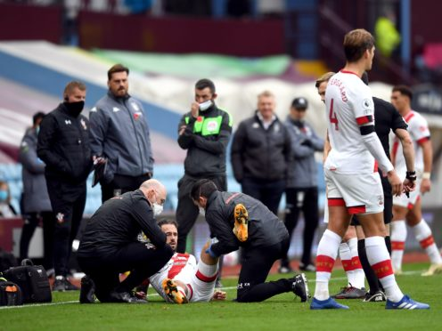 Danny Ings is out injured (Gareth Copley/PA)