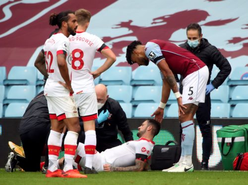 Danny Ings was injured against Aston Villa (Nick Potts/PA)