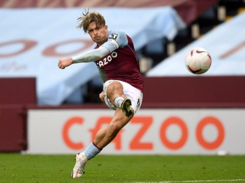 Aston Villa midfielder Jack Grealish returns to Premier League action boosted by some impressive performances for England (Gareth Copley/PA)