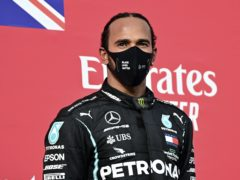 Lewis Hamilton is on the cusp of a seventh world championship (Miguel Medina, Pool via AP)