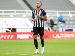Callum Wilson scored both of Newcastle's goals (Alex Pantling/PA)