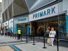 Primark stores could extend their opening hours for Christmas shoppers when they can open their doors again, bosses have said (Jacob King/PA)
