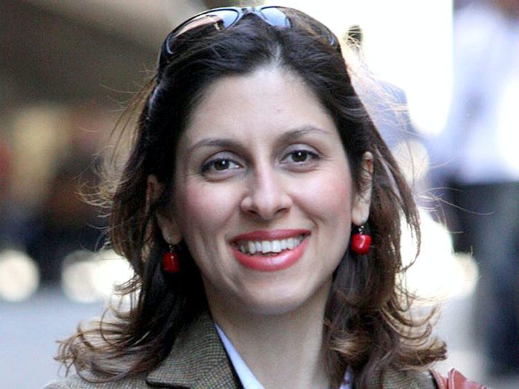 Nazanin Zaghari-Ratcliffe was taken to court in Iran on Monday but the hearing was adjourned (Family handout/PA)